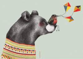 beer en vogel